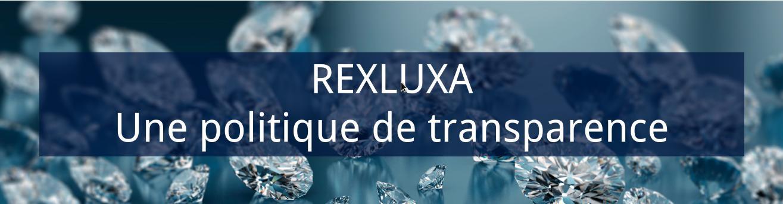 Rexluxa, une politique de transparence