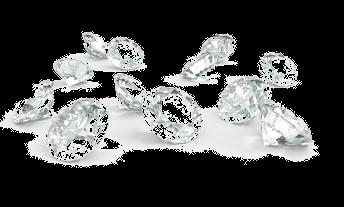 des diamants ronds brillants